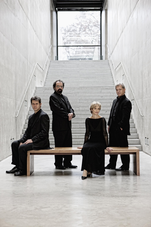 Lukas Hagen, Rainer Schmidt, Veronika Hagen, Clemens Hagen (f.l.t.r)