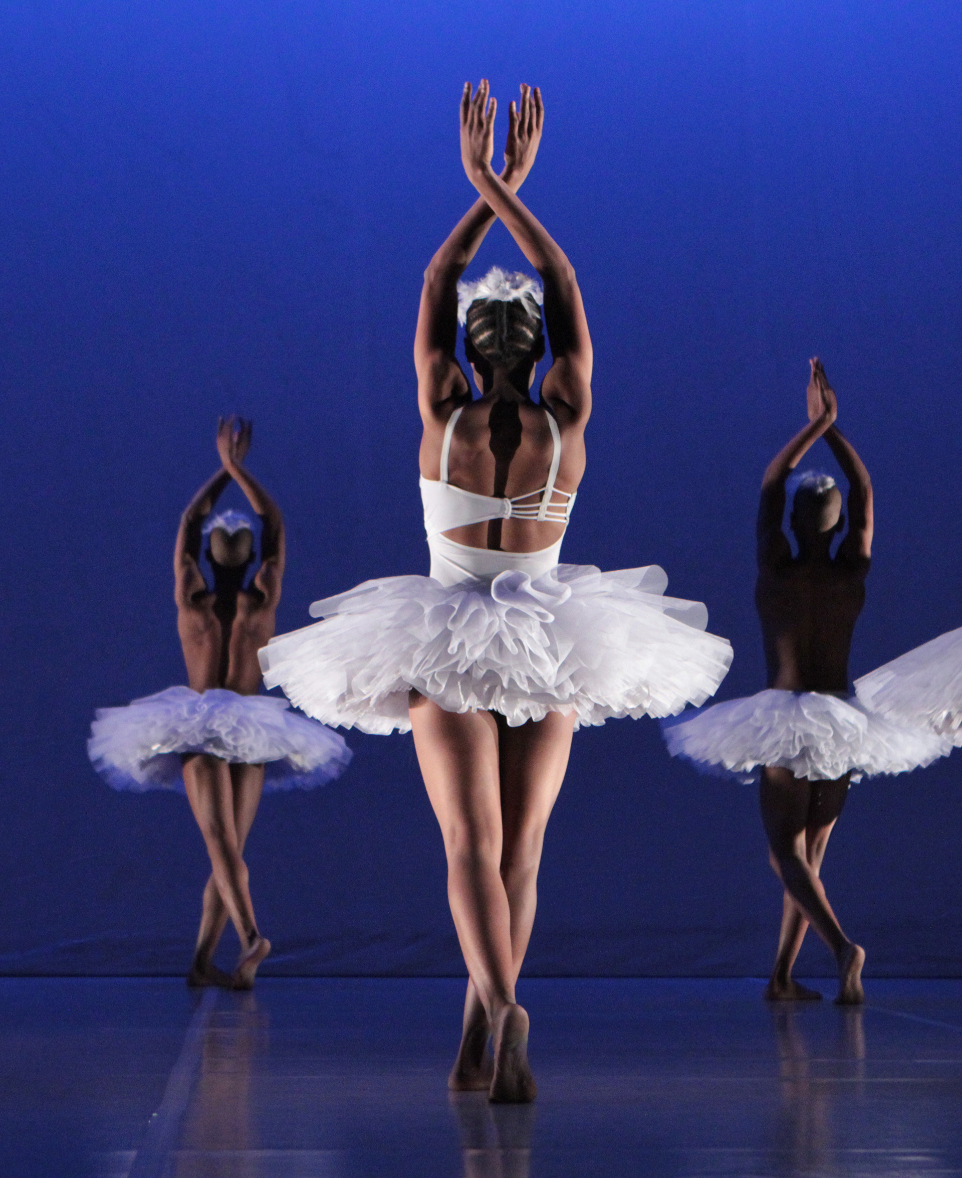 Dada Masilo's 'Swan Lake' as previewed at the Dance Factory in Newtown, Johannesburg.Photograph : John Hogg.