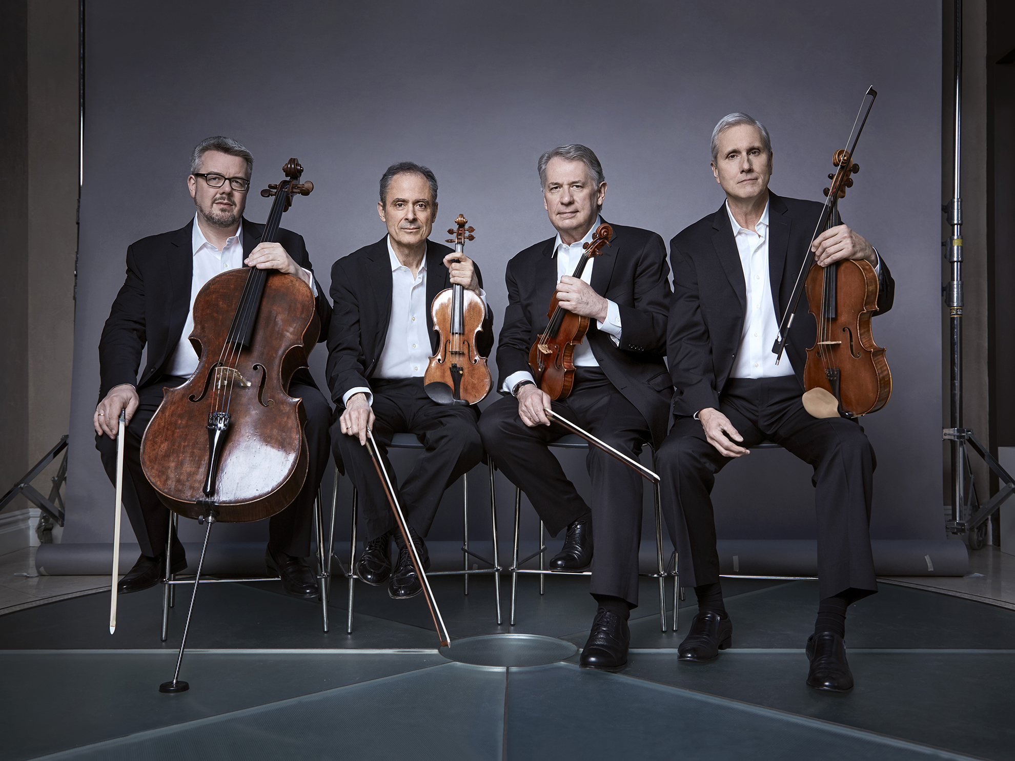 EMERSON STRING QUARTET   Eugene Drucker - violin, Philip Setzer - violin, Larry Dutton - viola, Paul Watkins - cello