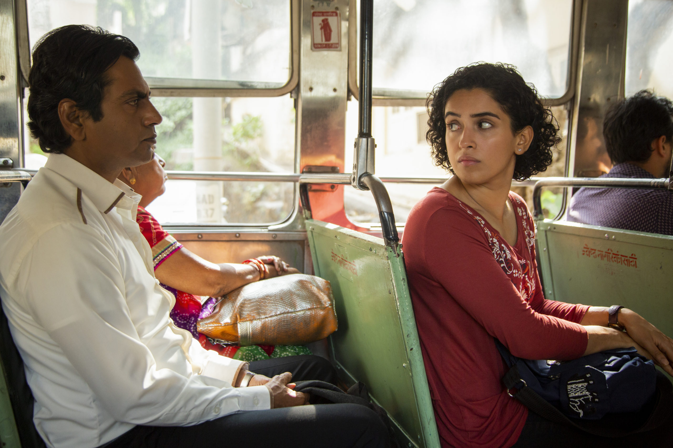 PHOTOGRAPH featuring Nawazuddin Siddiqui and Sanya Malhotra courtesy of Amazon Studios.